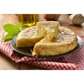 Tortilla Redonda con Cebolla