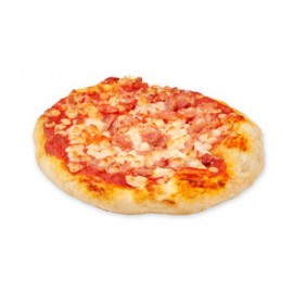 Mini Pizza Jamón y Bacon