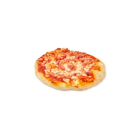 Mini Pizza Jamón/Bacon
