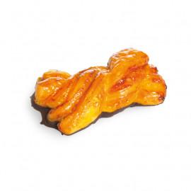 Mini Trenza Naranja y Cacao
